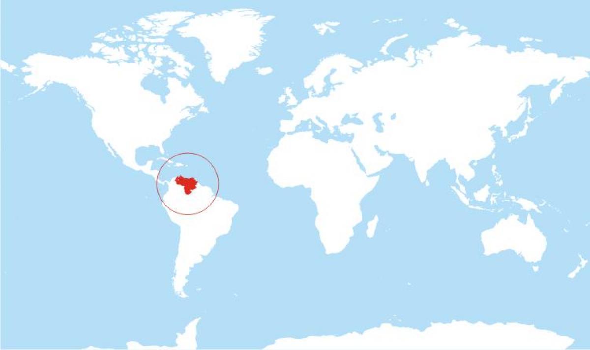 Venezuela location on world map map of venezuela location on world map of venezuela location on world gumiabroncs Gallery